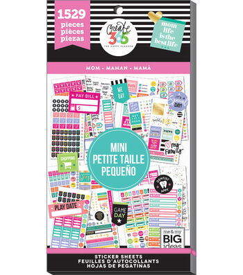 Me & My Big Ideas® The Happy Planner™ Mini Value Pack-Mom Job