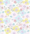 Snuggle Flannel Fabric 42\u0022-Sweet Flowers