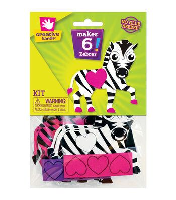 Creative Hands Zebra Foam Activity Kit