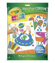 Crayola® Color Wonder Metallic Paper and Market Set, , hi-res