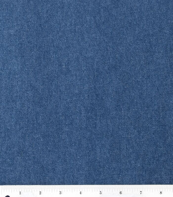 "Bottomweight 4oz Denim Fabric 57""-Medium Wash"