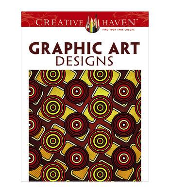 Dover Creative Haven Graphic Art Designs Coloring Book