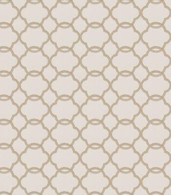 "Eaton Square Print Fabric 53""-Shaw/Dune"