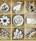 Themed Mini Wooden Flourishes-Harvest