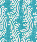 Waverly Multi-Purpose Decor Fabric 56\u0022-Turning Tides/Lagoon