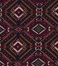 Knits-Plush Printed Stretch Knit