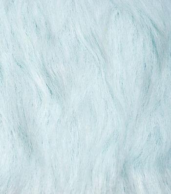 "Fashion Faux Fur Fabric 59""-Light Blue"