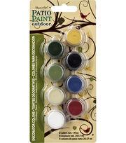 DecoArt Patio Paint Decorator Color 8 Pot Paint Pot 4x2, , hi-res