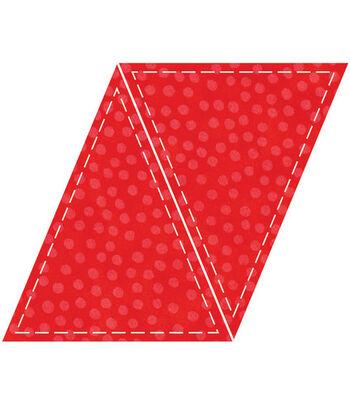 AccuQuilt Go! Fabric Cutting Die Isosceles Triangle