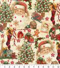 Christmas Cotton Fabric 44\u0022-Christmas Gifts