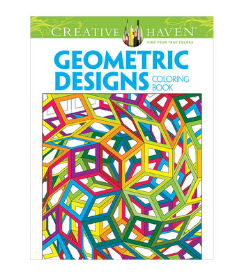 Adult Coloring Book-Dover Creative Haven Geometric Designs