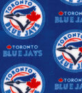 Toronto Blue Jays Fleece Fabric 58\u0022-Logo