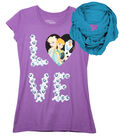 Disney Frozen Love Shirt with Scarf