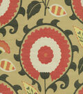 Home Decor 8\u0022x8\u0022 Fabric Swatch-Waverly Flor Feliz Campari