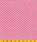 Made in America Cotton Fabric-Polka Dots Pink