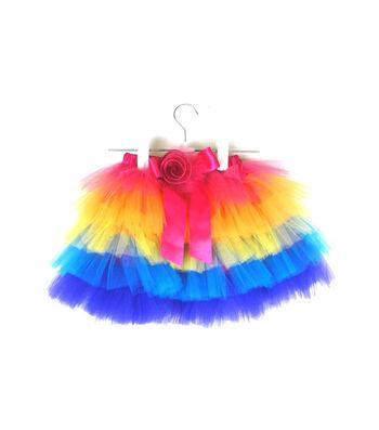 Maker's Halloween Child Short Tutu-Rainbow