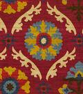 Home Decor 8\u0022x8\u0022 Fabric Swatch-Waverly Mayan Medallion Gem