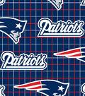 New England Patriots Flannel Fabric 42\u0022-Logo