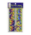 Dritz® Soft Flex Iron-On Letters-Tie Dye