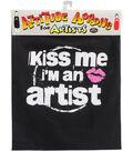 Attitude Artist Apron Black-Kiss Me