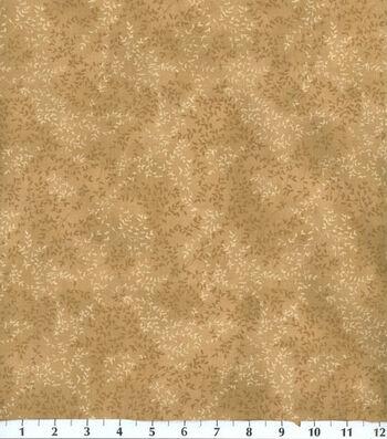 "Keepsake Calico™ Cotton Fabric 44""-Beige Vinery"