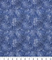 "Keepsake Calico™ Cotton Fabric 43""-Floral Blue, , hi-res"