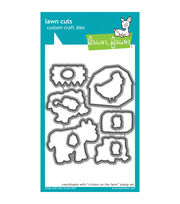 Lawn Fawn Lawn Cuts Custom Craft Die -Critters On The Farm, , hi-res
