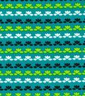 Quilter\u0027s Showcase™ Fabric 43\u0027\u0027-Black Linear Floral on Capri Breeze