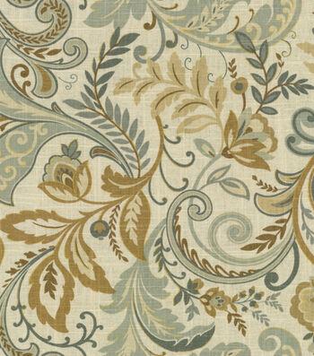 """SMC Designs Multi-Purpose Decor Fabric 54""""-Findlay Seaglass"""