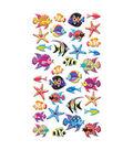 EK Success Puffy Dimensional Stickers-Tropical Fish