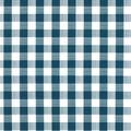 Tablecloth Vinyl 54\u0022-Gingham Check Navy