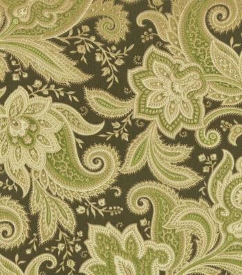 "Waverly Sun N' Shade Outdoor Fabric 54""-Rustic Retreat Rainforest"