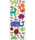 EK Success Puffy Classic Stickers-Animals