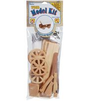 Wood Model Kit-Covered Wagon, , hi-res