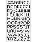 Sticko Alphabet Stickers Small-Aristocrat