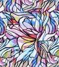 Snuggle Flannel Fabric 42\u0022-Colorfuls Stained Glass