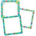 Creative Teaching Press 12 pk 10\u0027\u0027 Card Cut-Outs-Dots on Turquoise