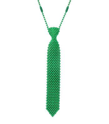 St. Patrick's Day 21'' Tie Necklace