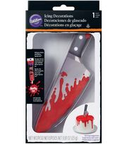Wilton® Halloween 0.81 oz. Bloody Knife Icing Decoration, , hi-res