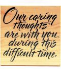 Hero Arts Rubber Stamp-Caring Thoughts
