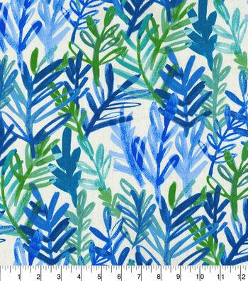 Waverly® Spotlight Upholstery Fabric 54''-Cobalt Vibrant Canvas