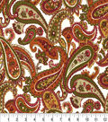 Keepsake Calico Cotton Fabric-Santos Garnet