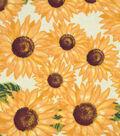 Snuggle Flannel Fabric 42\u0022-Sunflowers