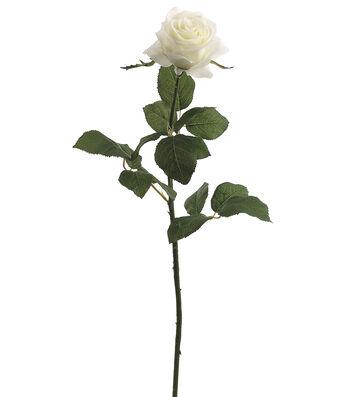 """Bloom Room 27.5"""" Confetti Rose Stem-Cream"""
