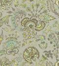 Williamsburg Upholstery Fabric-Grand Palampore/Shade