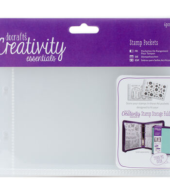 Creativity Essentials A6 Stamp Pockets