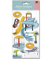 Jolee's Boutique Le Grande Dimensional Stickers-Water Park, , hi-res