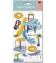 Jolee's Boutique Le Grande Dimensional Stickers-Water Park, , hi-res