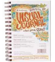 "Strathmore Visual Journal Bristol Smooth 5.5""X8""-28 Sheets, , hi-res"
