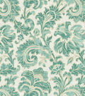 Swavelle Millcreek Print Fabric 54\u0022-Boxtree Lynwood Aquamarine
